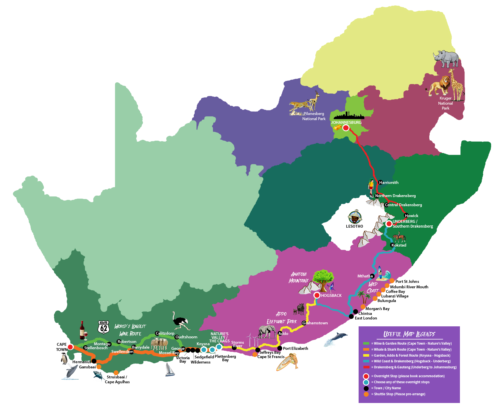 Hop on hop off bus travel south africa the mzansi experience buy bus ticket now gumiabroncs Choice Image